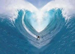 heart ocean